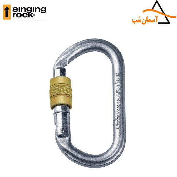 کارابین پیچ فولادی سینگینگ راک OVAL STEEL CONNECTOR