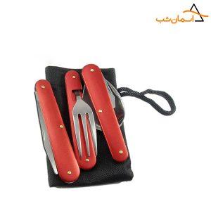 قاشق چنگال چاقو تاشو